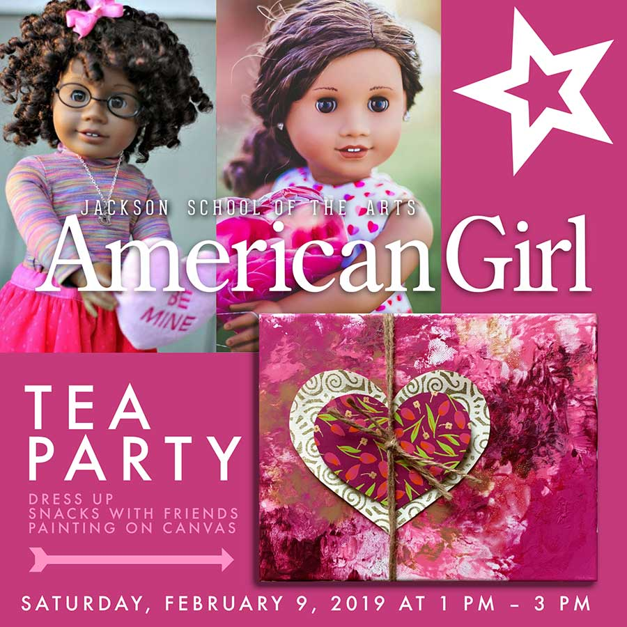 American Girl Valentines Tea Party